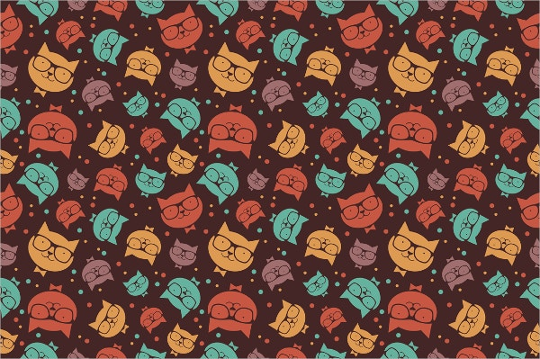 Potrait Cats pattern