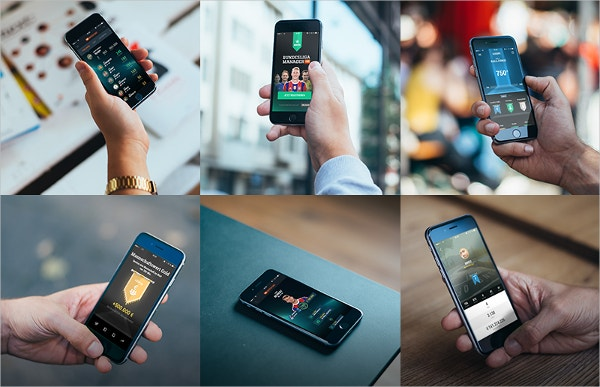 Free 6 Photorealistic iPhone 6 mockups
