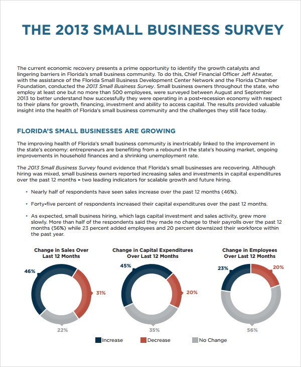 Business survey template 10 free word pdf document downloads new business survey template friedricerecipe Images