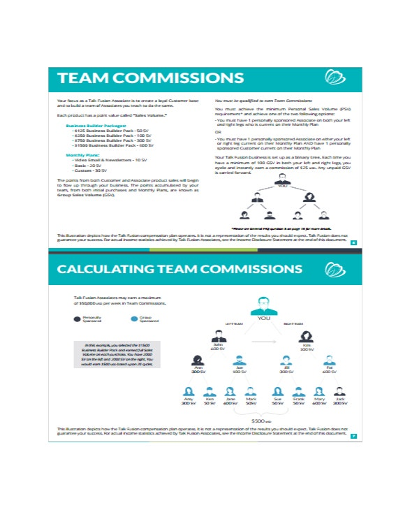 Corporate Compensation Plan Template