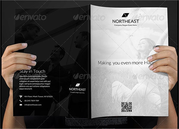Flat Style Corporate Business Brochure