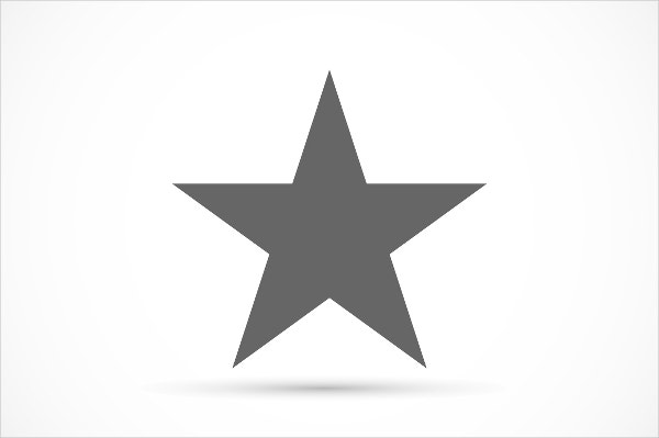 Rate symbol Star Icon