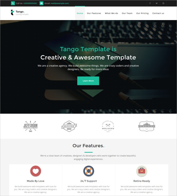 Joomla Multipurpose Business Theme $43