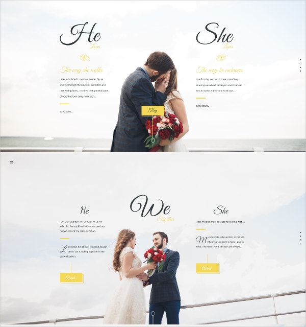 Wedding Ceremony Joomla Theme $12