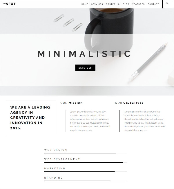 Creative Business Drupal Theme $48