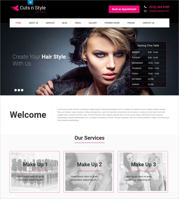 hair salon wp blog theme 48