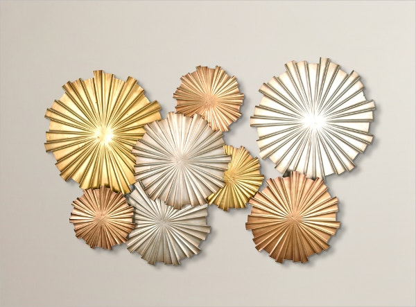 Mixed Statement Circles Geometric Wall Art