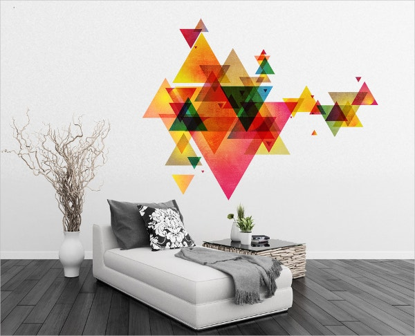 18 Extraordinary Geometric Wall Art Designs Free
