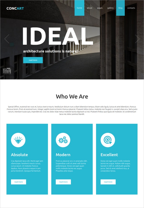 Free Professional Joomla Template for Business Website