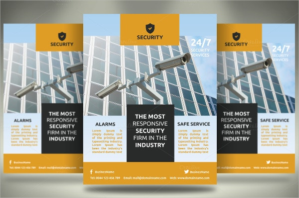 9 safety flyers free psd eps ai format download free