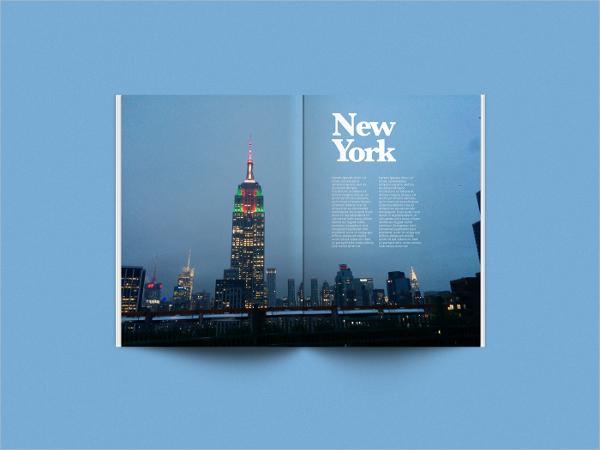 psd magazine mock up design