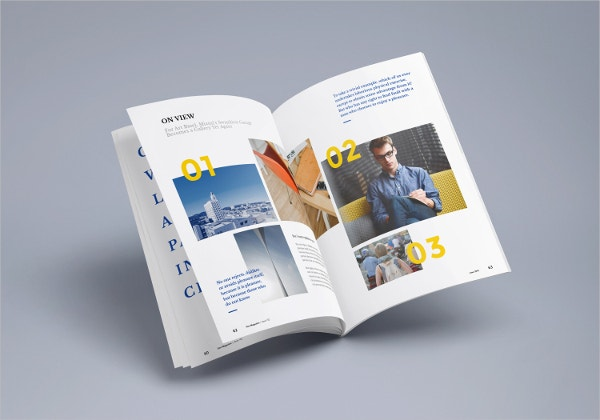 Photorealistic Magazine MockUp Free Download