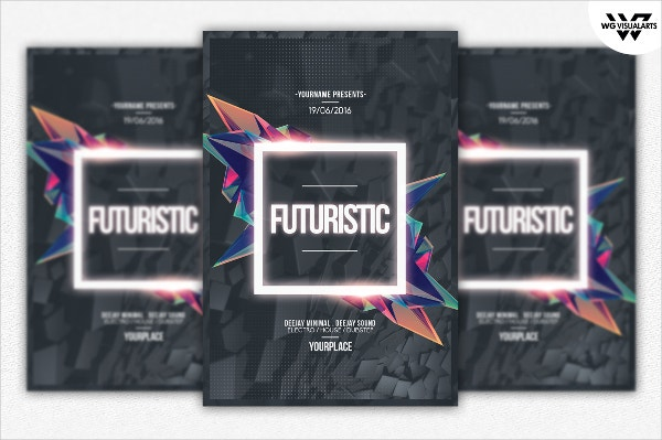 Futuristic Flyer Template