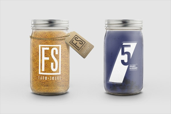 Jar Label Templates Free PSD AI Vector EPS Format Download - Mason jar label template