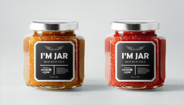 Jar Label Templates  Free Psd Ai Vector Eps Format Download