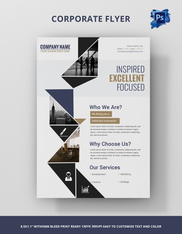 Freebie of The Day - Corporate Flyer