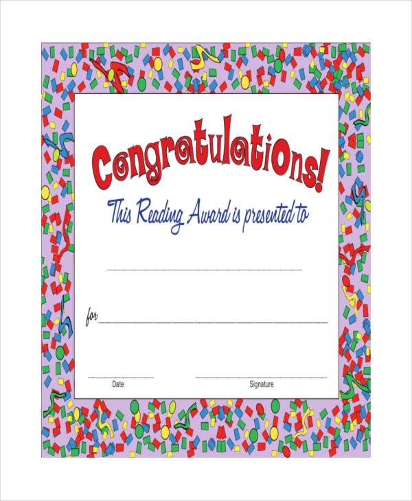 printable congratulations certificate template