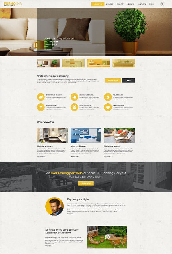 furniture drupal website theme 75