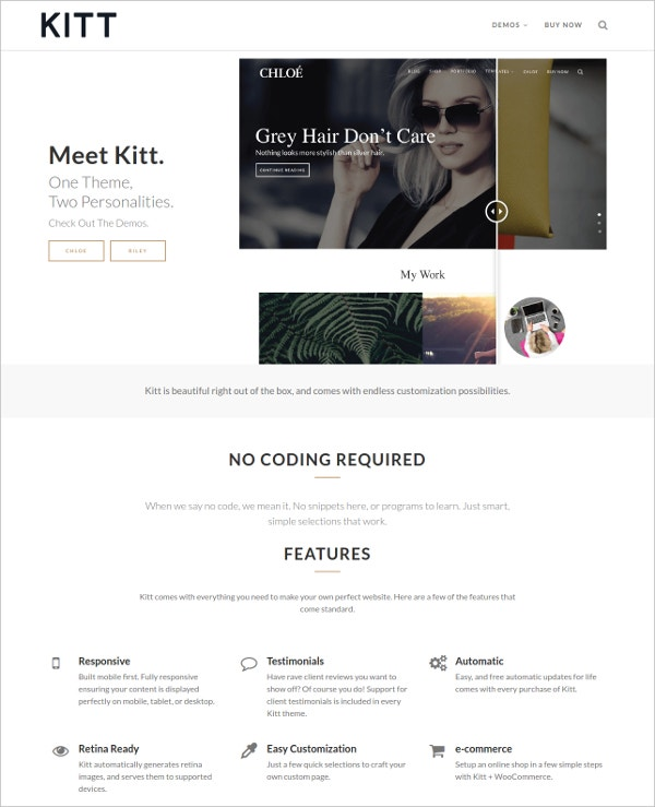 Personal Fashion Blog Multilingual Theme