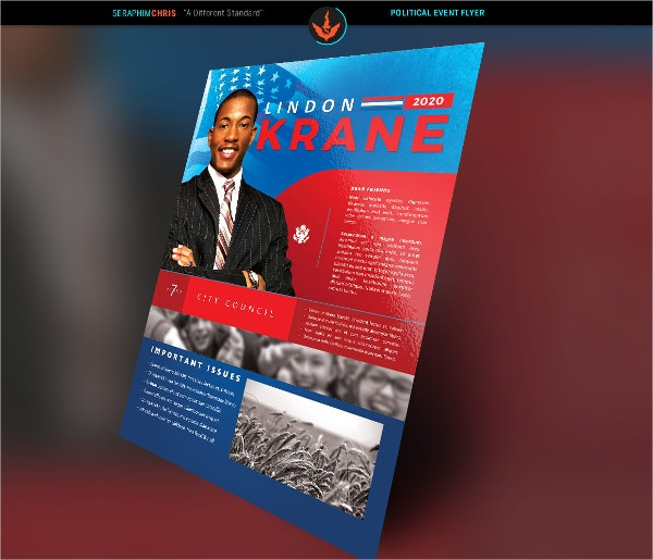 Political Flyers  Free Psd Eps Ai Format Download  Free