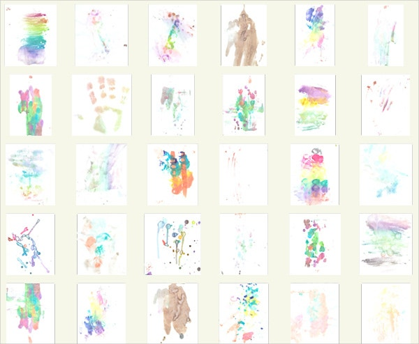 36 watercolors pack