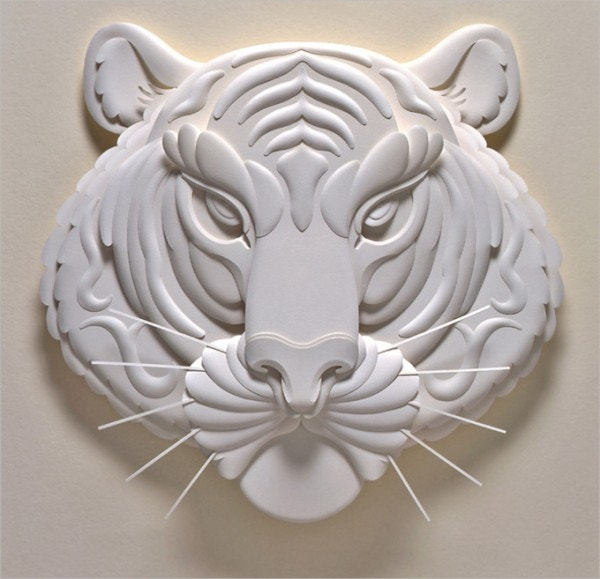 Tiger Paper Art