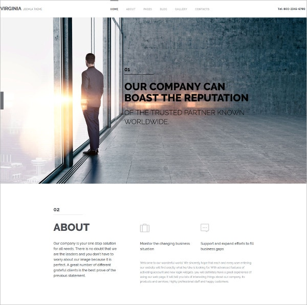 Corporate Partner HTML5 Template $75