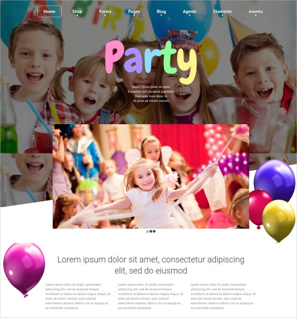 Joomla Kids eCommerce Template $69