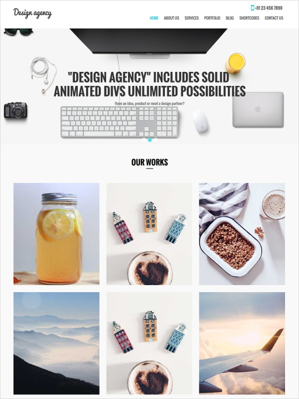 Design Agency WP Theme
