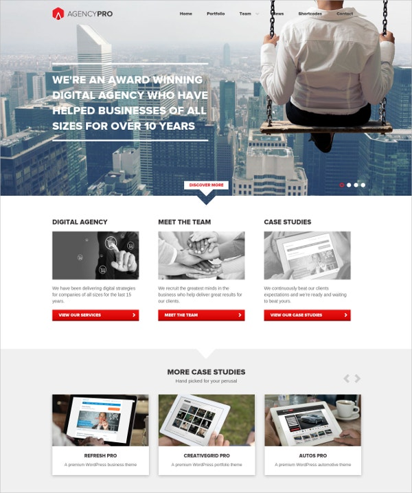Business Agency WordPress Theme