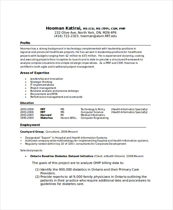 computer science graduate resume - Resume Computer Science Pdf