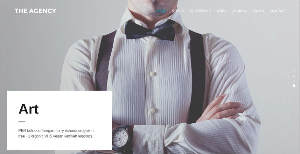 Fully Responsive WordPress Theme For Agency