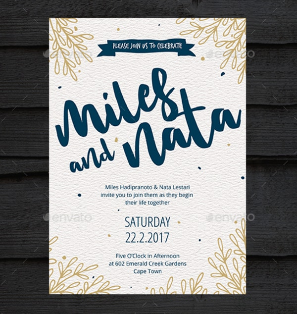 20 wedding invitation templates ideas free premium templates hand drawn wedding invitation stopboris