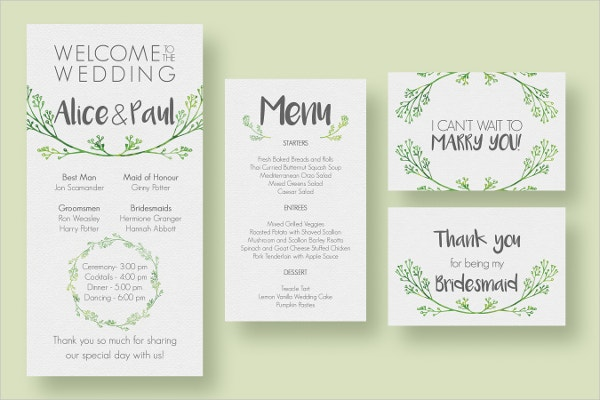 Hip Wedding Invitation Suite