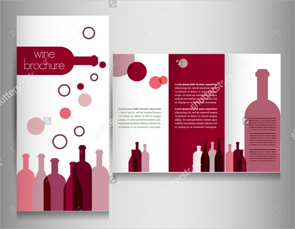Designed Wine Brochure