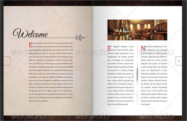19  wine brochure templates