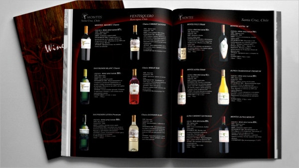 Wines & Spirits Brochure
