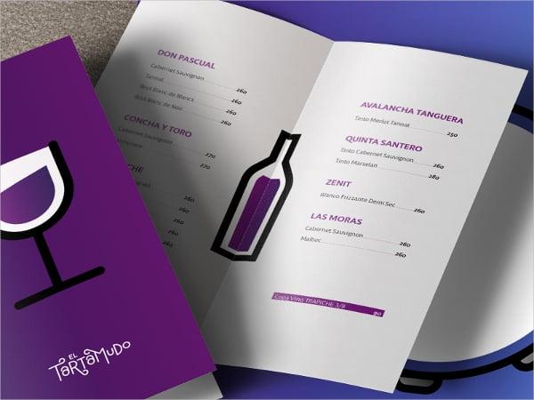 Minimal Wine Brochure