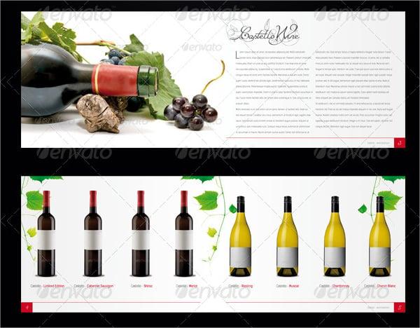 Modern Wine Brochure