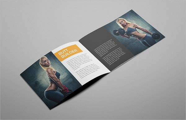 Gym Brochure Templates  Free Psd Ai Vector Eps Format