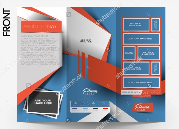Gym Brochure Templates  WowcircleTk