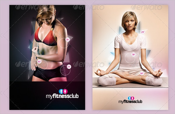 my gym fitness club brochure
