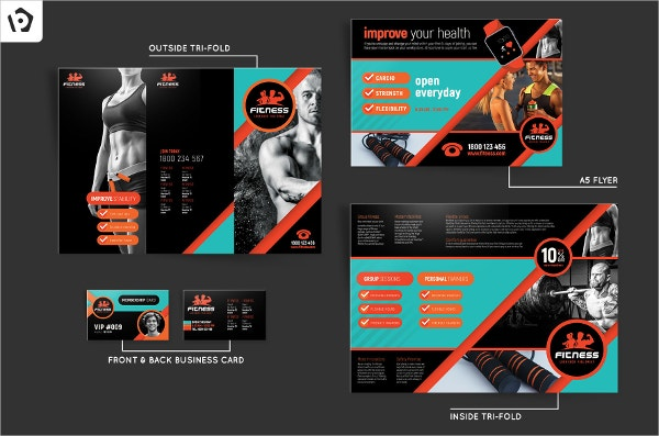 15+ Gym Brochure Templates - Free Psd, Ai, Vector, Eps Format