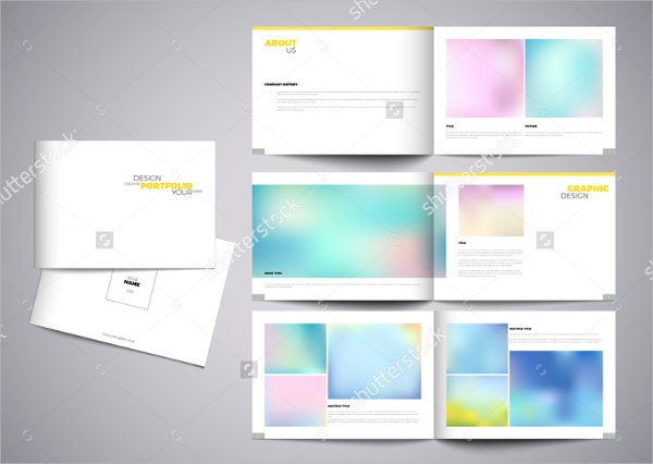 Graphic Design Studio Brochure