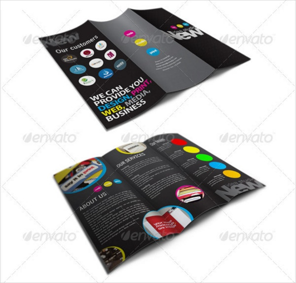 new media studio brochure