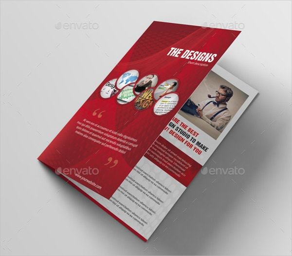 creative design studio brochure