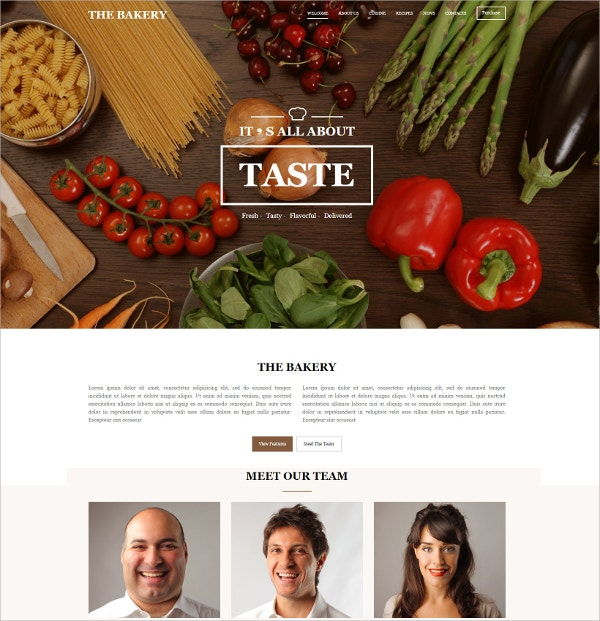 MultiPurpose Responsive One Page Family Website Template $11