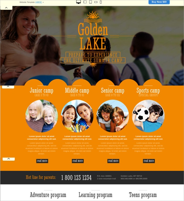 special family website theme 69