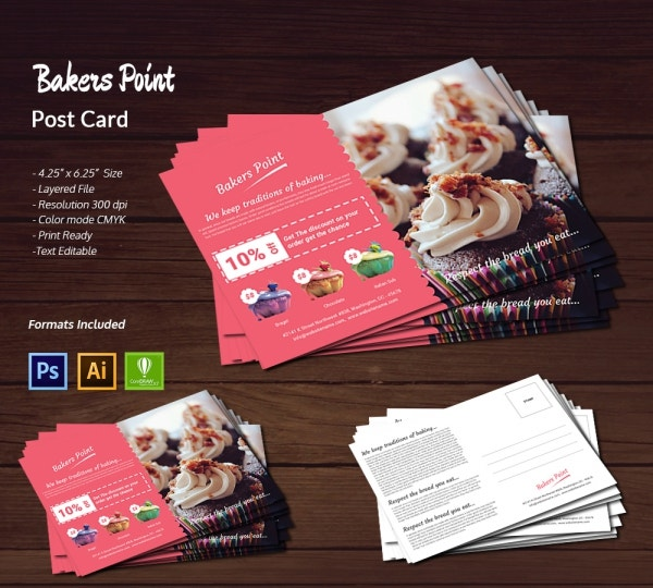 Bakery Post Card
