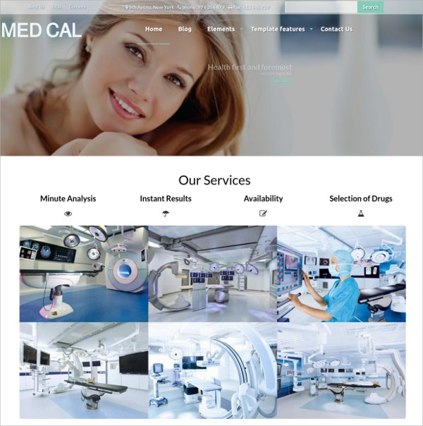 Healthcare Drupal Website Theme $59